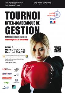 Affiche tournoi gestion - 2017